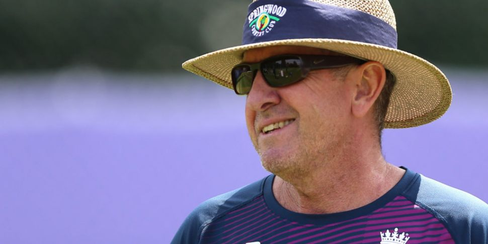 England cricket coach Bayliss...