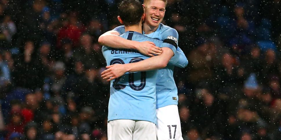 super cute 799a1 bbf68 Kevin De Bruyne: 'We can win Premier League with 85 points ...
