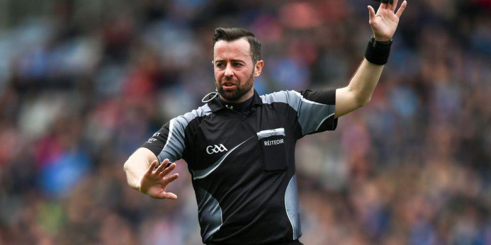 Should David Gough referee the...