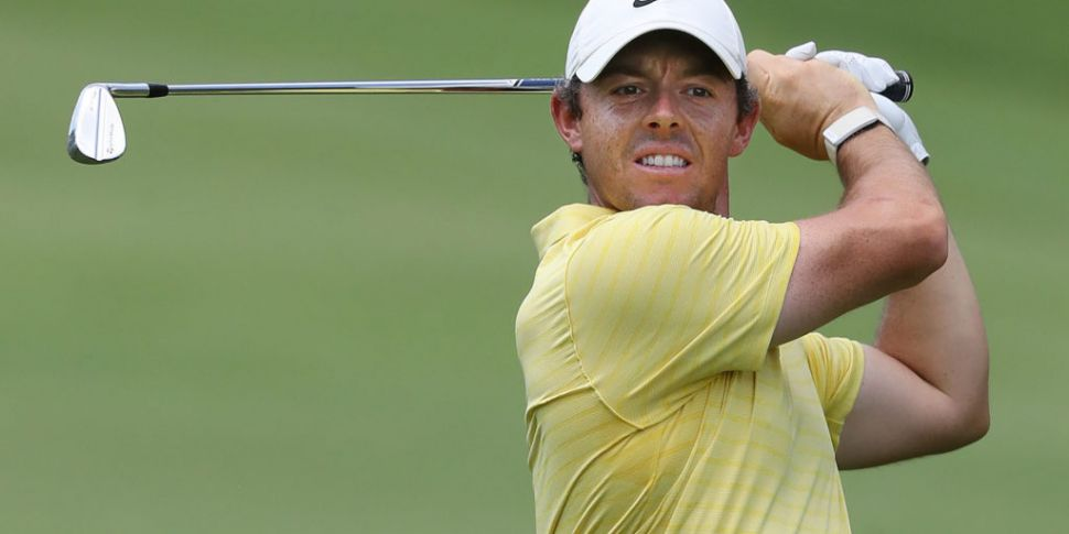 McIlroy within touching distan...