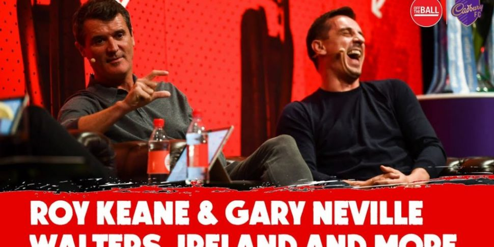 Roy Keane and Gary Neville on...