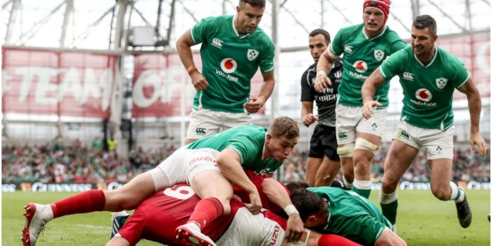 Ireland player ratings against...