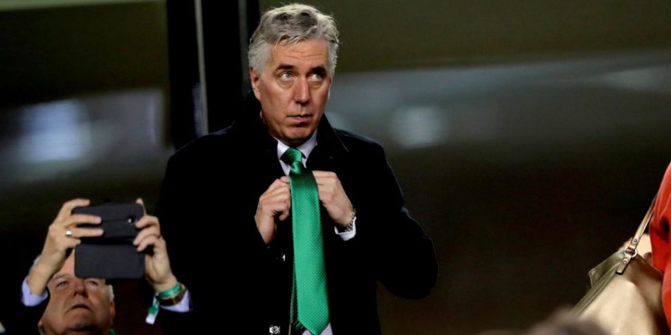 John Delaney leaves the FAI