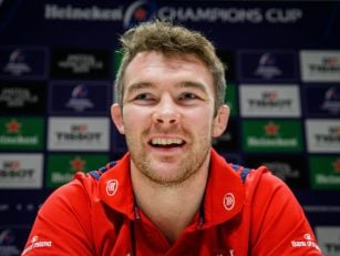 Peter O'Mahony's relishing Kin...