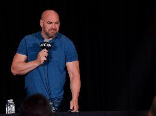 UFC President Dana White expec...