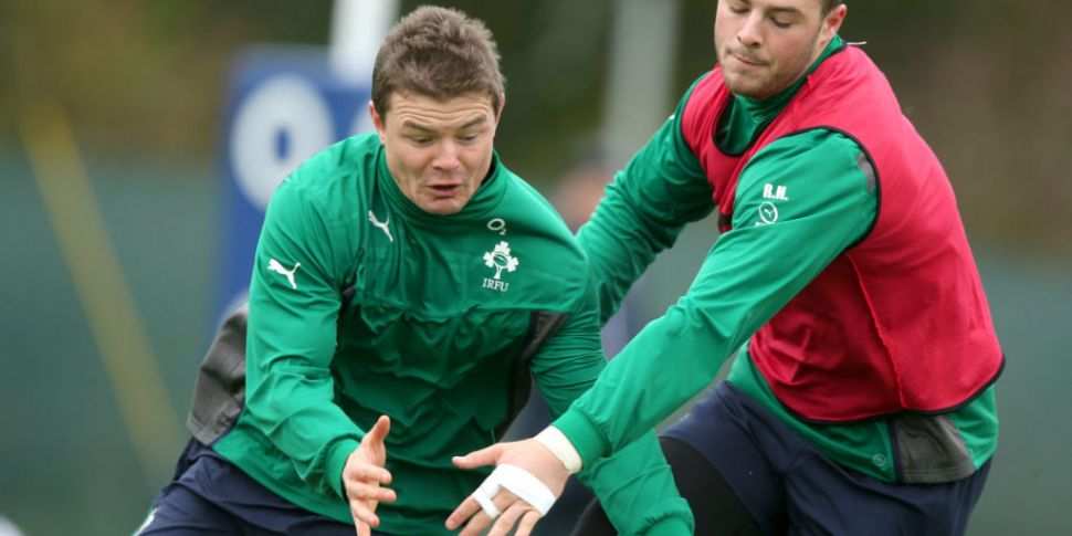 The time Brian O'Driscoll 'tes...