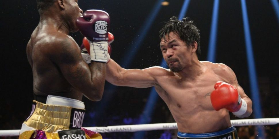 Manny Pacquiao bounces back in...