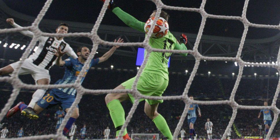 Ronaldo hat-trick sparks Juven...