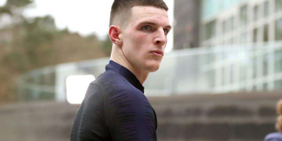 Declan Rice apologises for 201...