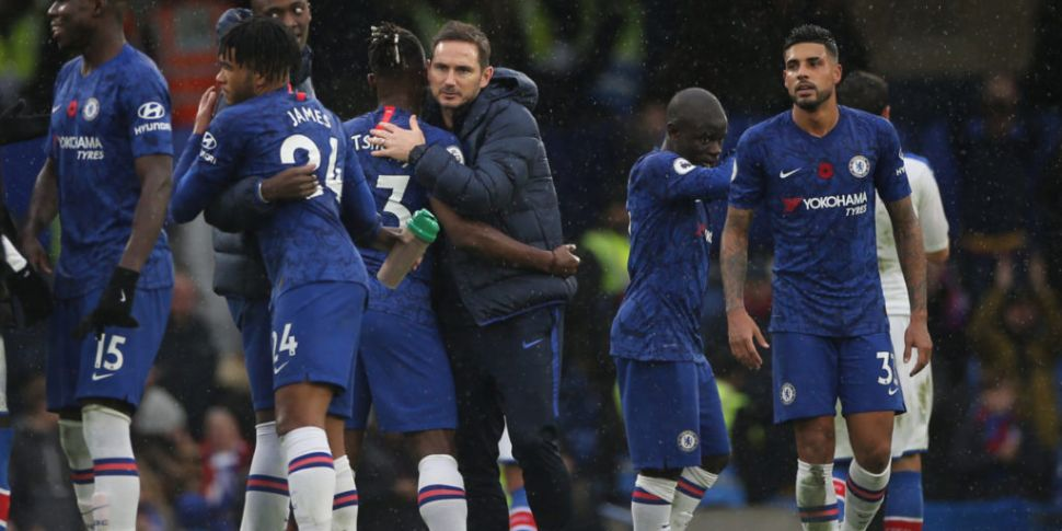 Lampard happy with form but ta...