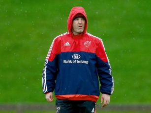 Anthony Foley looks set for a...