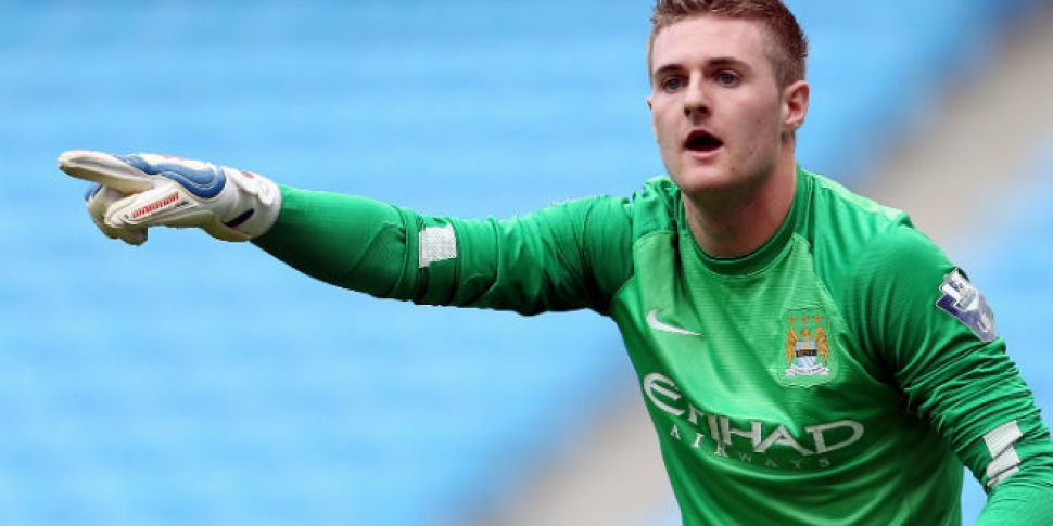 Man City send Ireland youth go...