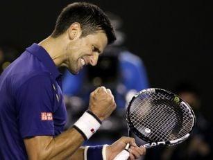 Novak Djokovic wins the Austra...