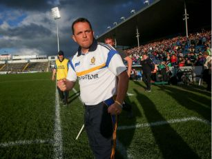 Clare hurling manager Davy Fit...