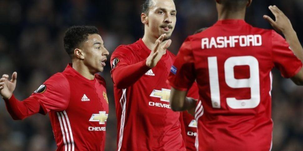 7e4f88c19f6 Zlatan Ibrahimovic hat-trick guides Man United past Saint Etienne ...