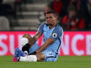 Gabriel Jesus could be out for...