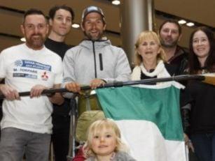 Irish adventurer receives hero...