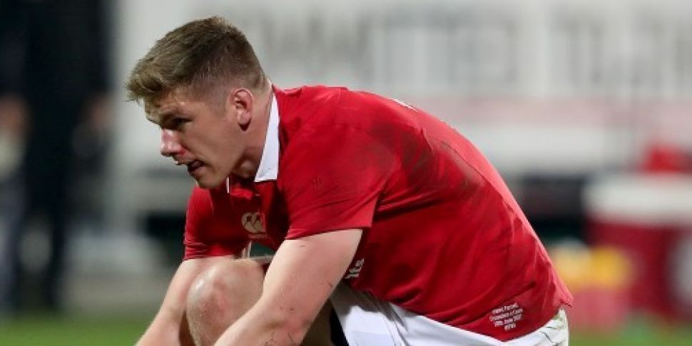 Owen Farrell ruled out of Maor...