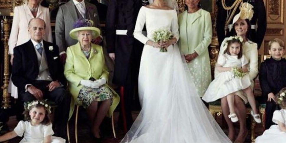 Official Wedding Photos.Prince Harry Meghan Markle Release Their Official Wedding