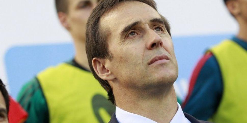 Julen Lopetegui to Real Madrid...