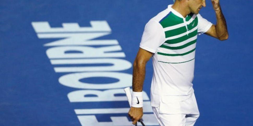 Roger Federer facing a month o...