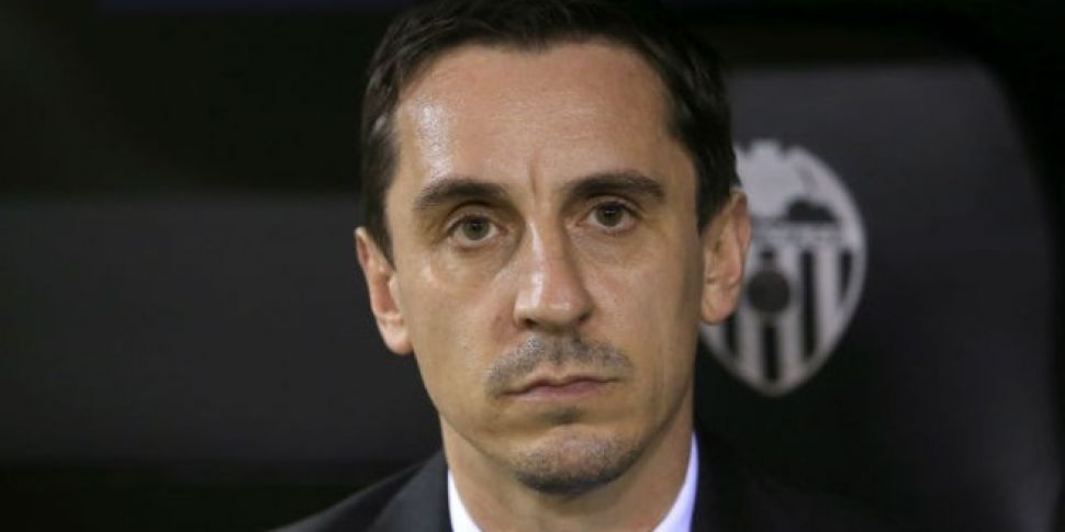 Gary Neville's managerial...