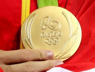 Olympic medals to be made from...