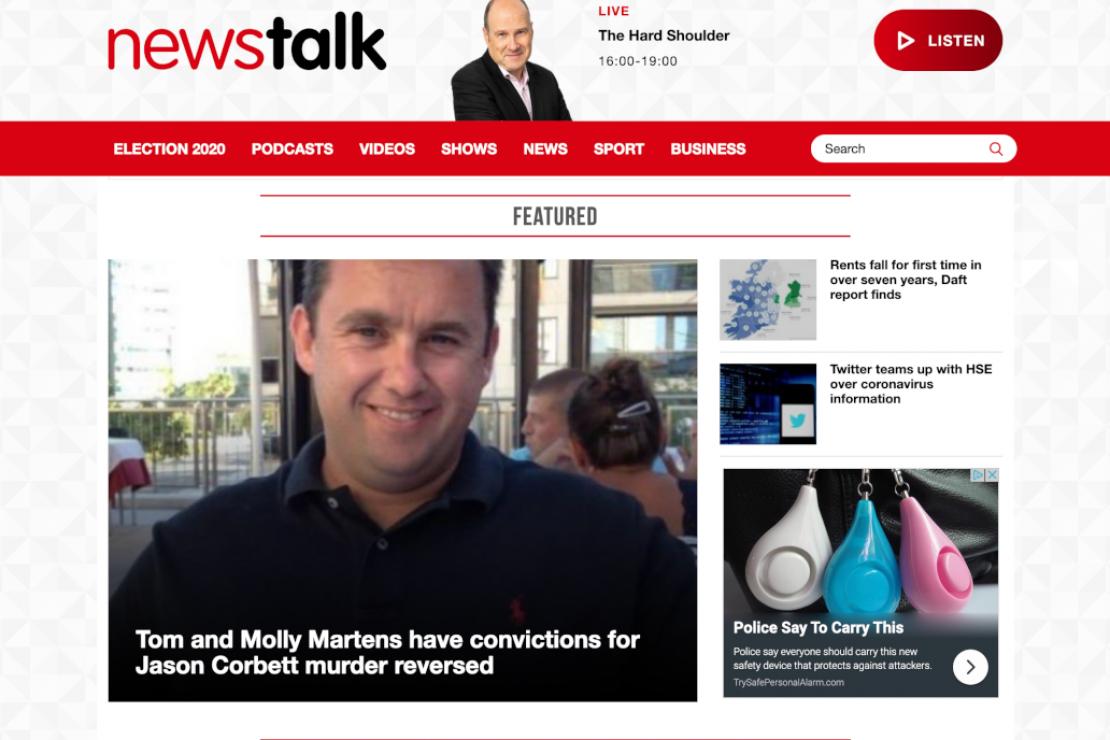 Newstalk Homepage