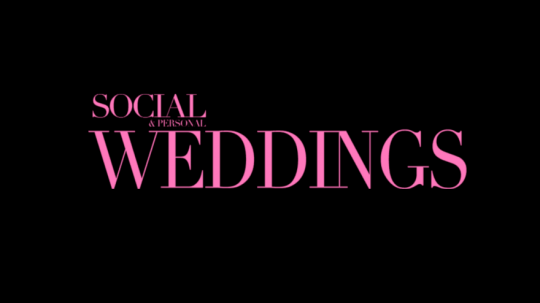 Social and Personal Weddings