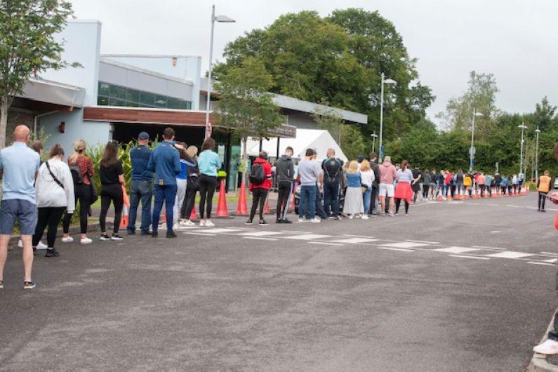 Hundreds attend walk-in COVID-19 vaccination clinic in Killarney