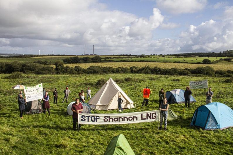 Climate campaigners occupy proposed liquified gas terminal site in North Kerry