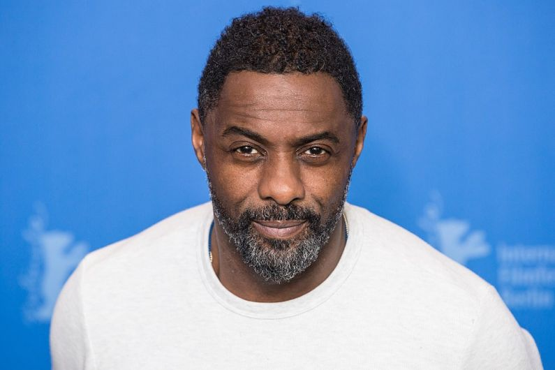 Actor Idris Elba among a group of celebrities filming in Dingle today