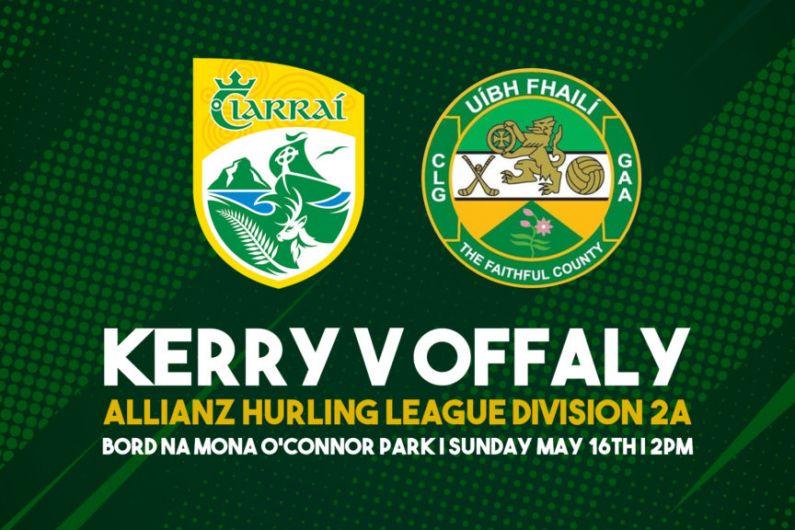 LIVEBLOG Kerry v Offaly Allianz Hurling League