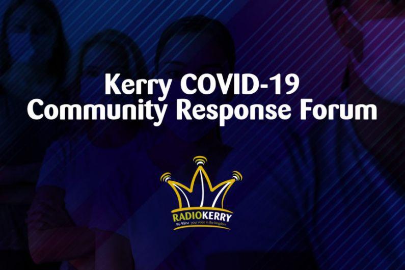 Kerry COVID-19 Community Help Forum – July 15th, 2021