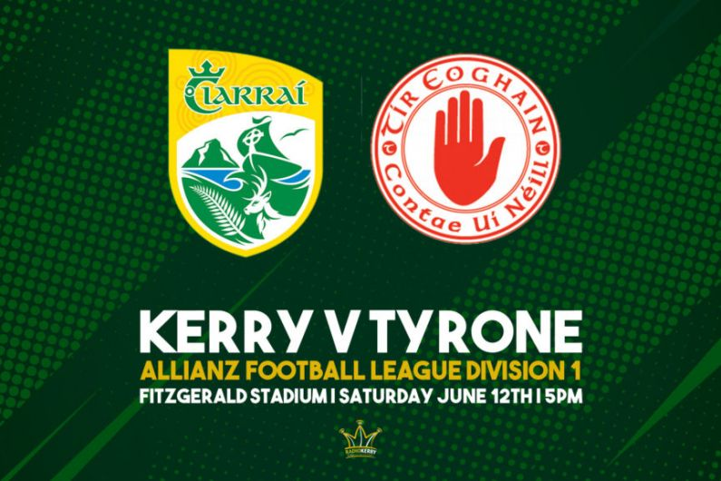 Victory for Kerry over Tyrone in Allianz Football League semi-final