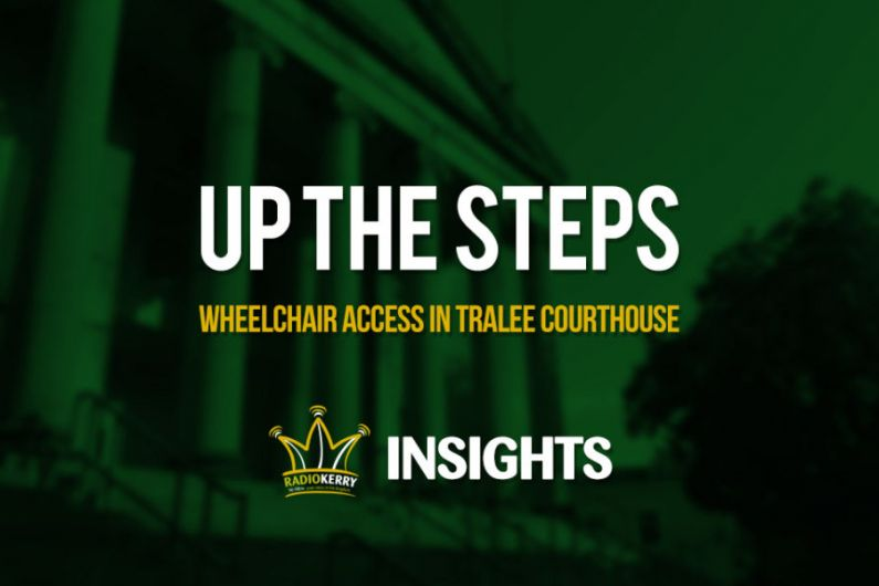 Up the Steps - Access to Tralee Courthouse