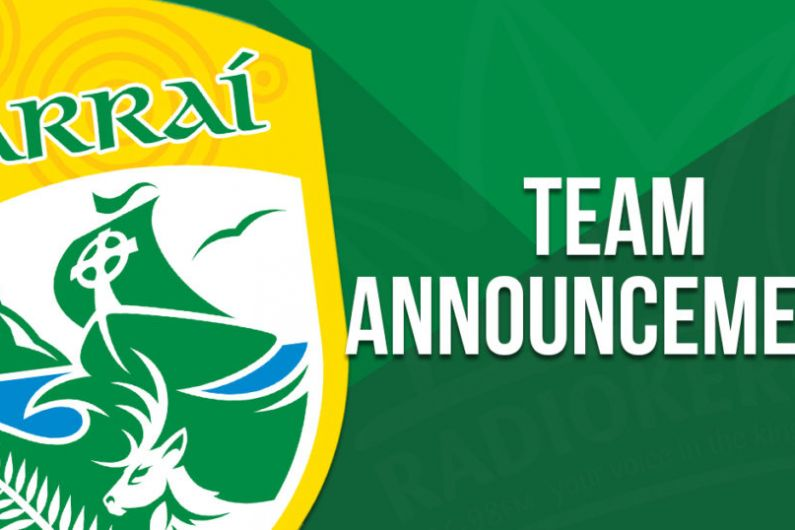 Kerry Team To Play Donegal Announced