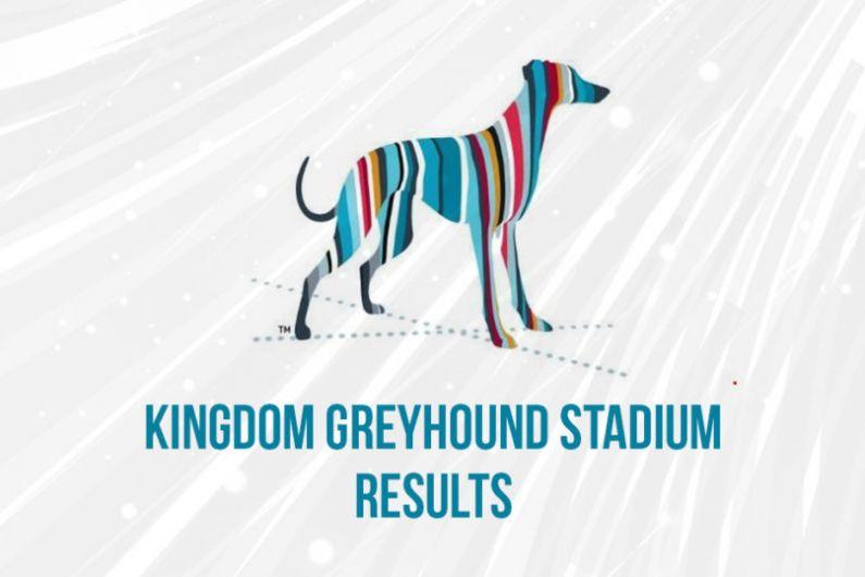 Kingdom Greyhound Stadium feature won by Floco