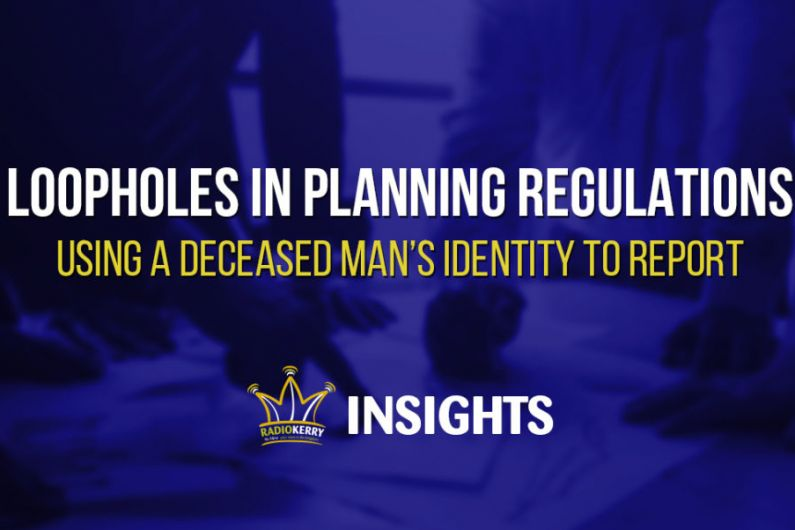 Loopholes in Planning Regulations – Using a Deceased Man's Identity to Report