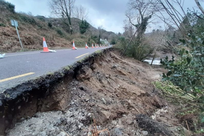 Cost of repairing collapsed road between Killarney and Kenmare exceeds €300,000