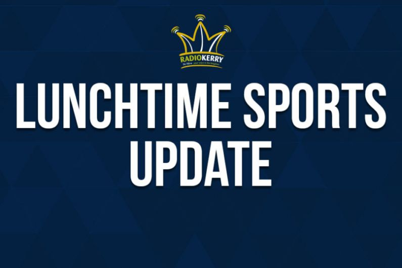 Friday Lunchtime Sports Update