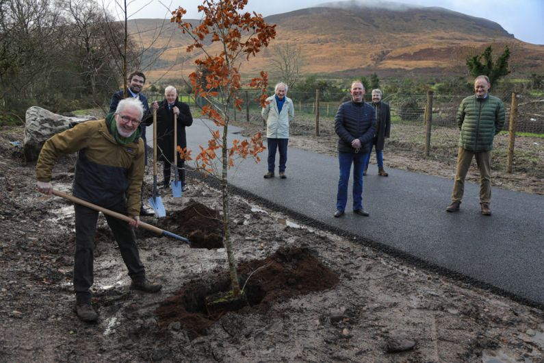 New car park and access road at Tomies Wood officially opened