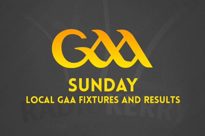 Sunday Local GAA Fixtures & Results