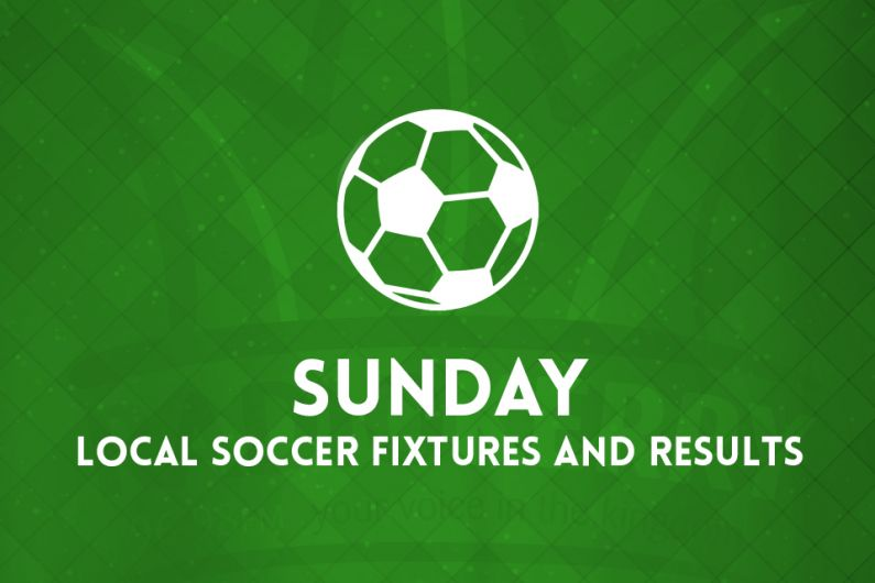 Sunday local soccer fixtures & results
