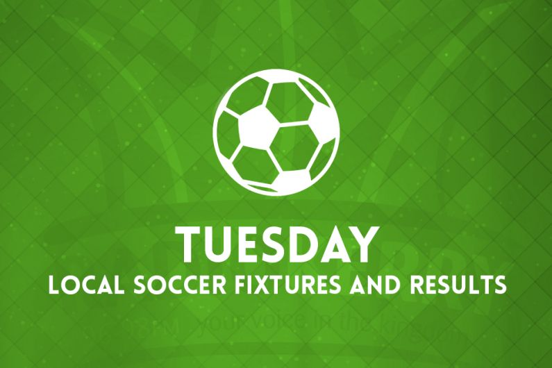 Tuesday Local Soccer Fixtures & Results