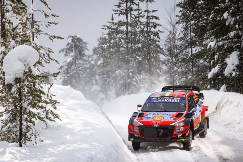 Fourth Place Finish For Breen/Nagle at WRC Artic Rally Finland.