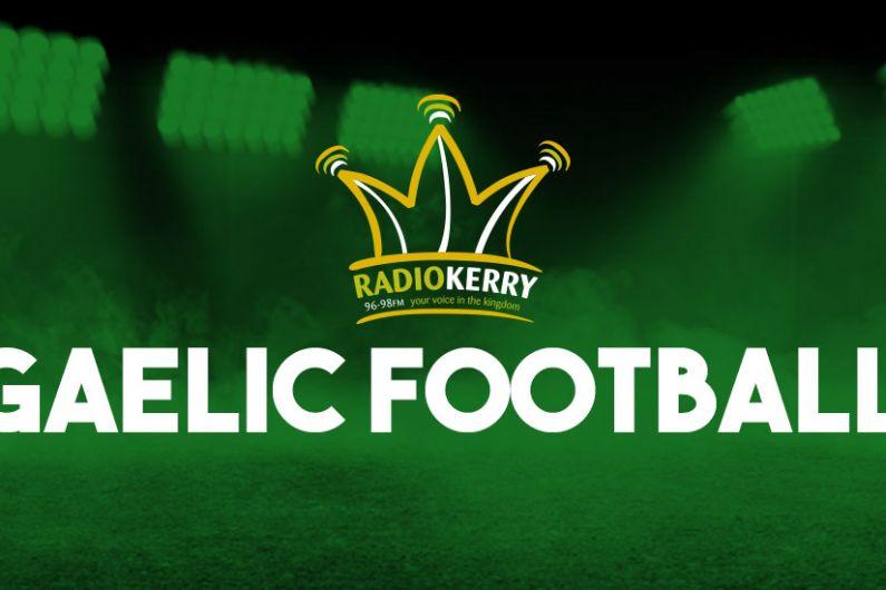 Underage Football Gets Underway Across Kerry