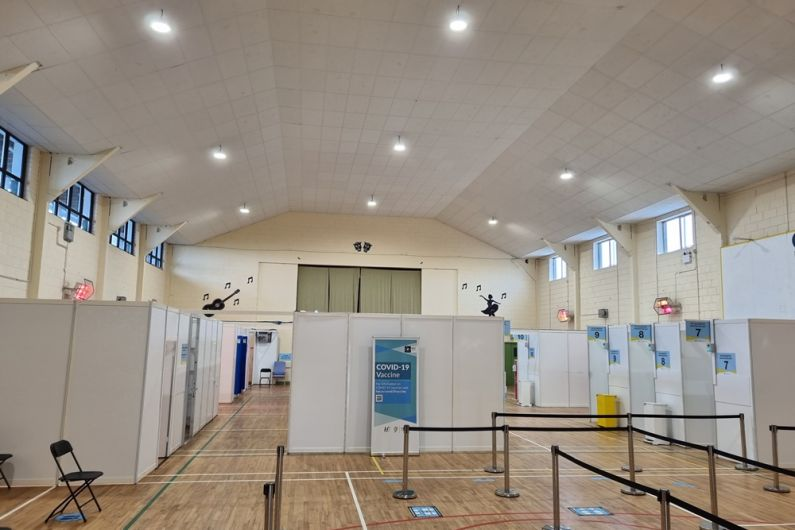Longford mass vaccination centre opens on phased basis today