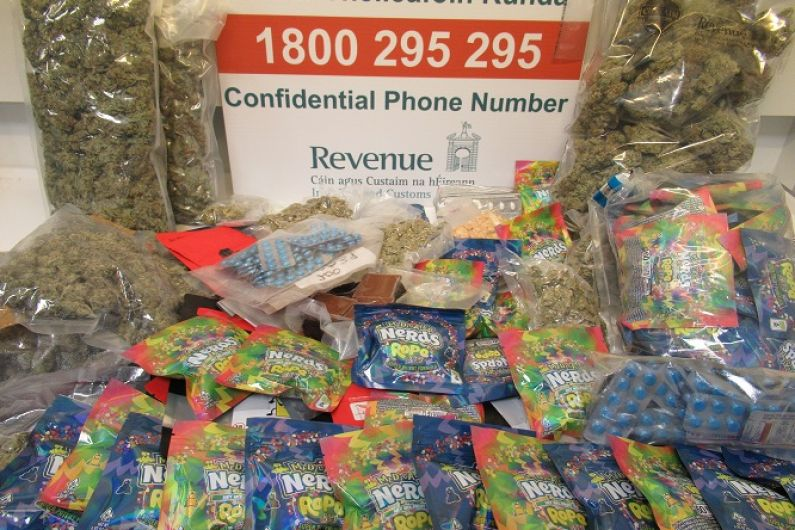 Drugs worth almost €50,000 discovered in Athlone
