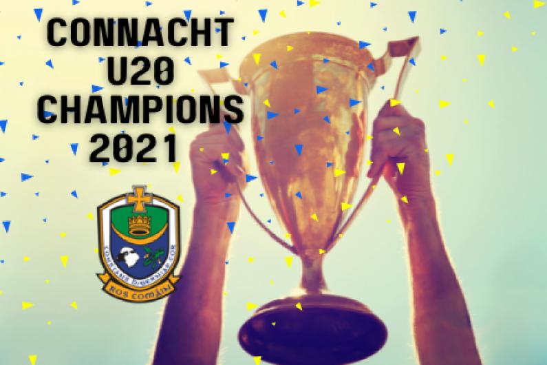 Roscommon are U20 champions